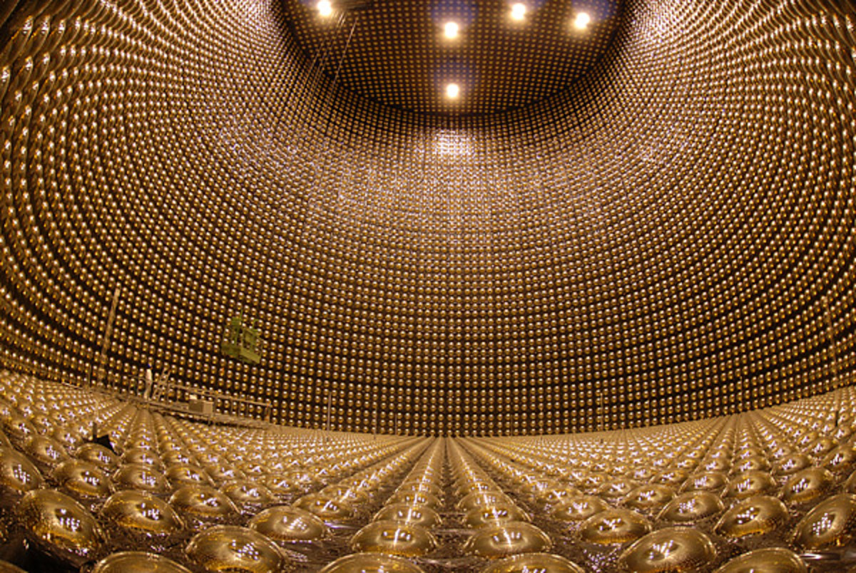 One of the detectors used in the T2K experiment.