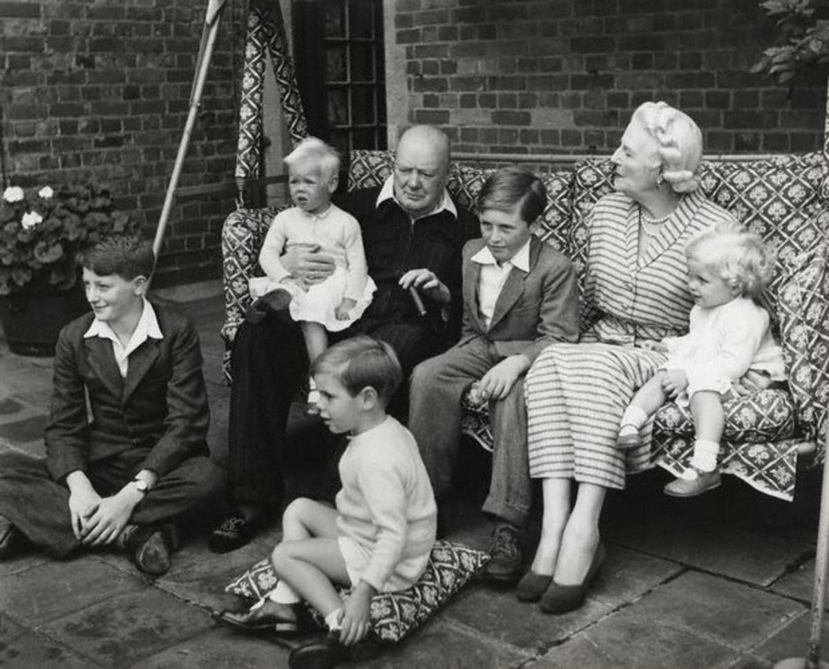 The Churchill Family, 1951