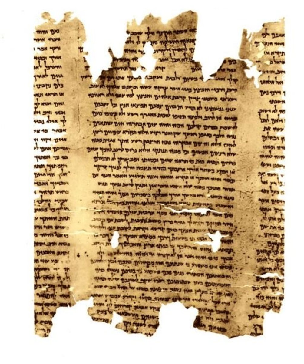 The earliest surviving stories of Noah were written on parchment (animal skin).