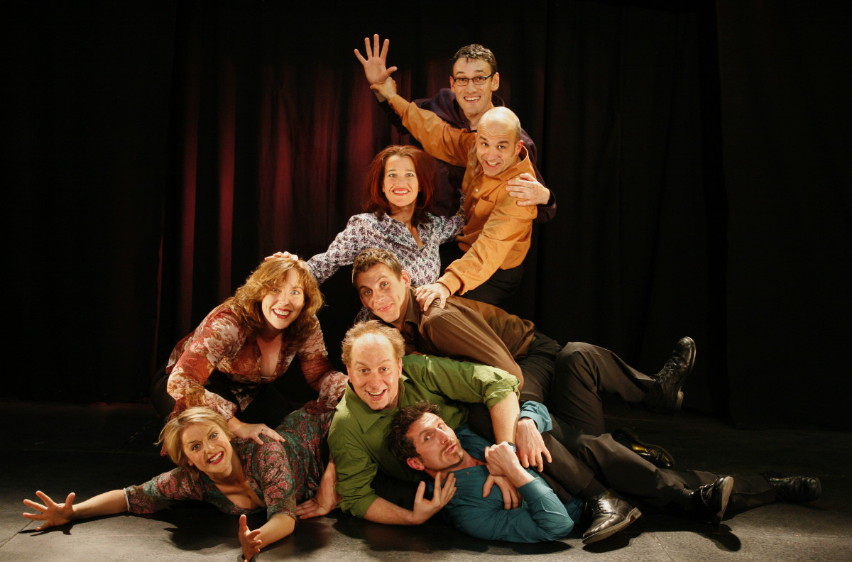Improvisation and drama games increase energy onstage.