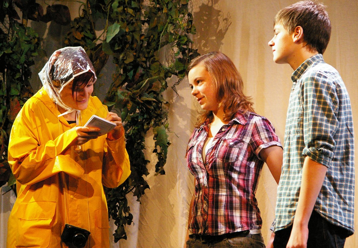 Drama is fun and easy for students, and very rewarding for the teacher