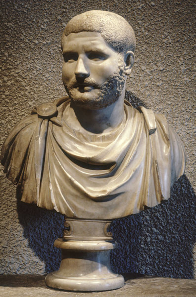 Portrait of a Man. Walters Art Museum. The paterfamilias was an adult male Roman citizen and head of his household.