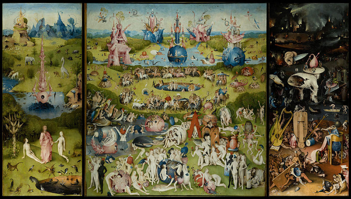 """Garden of Earthly Delights,"" by Hieronymus Bosch."
