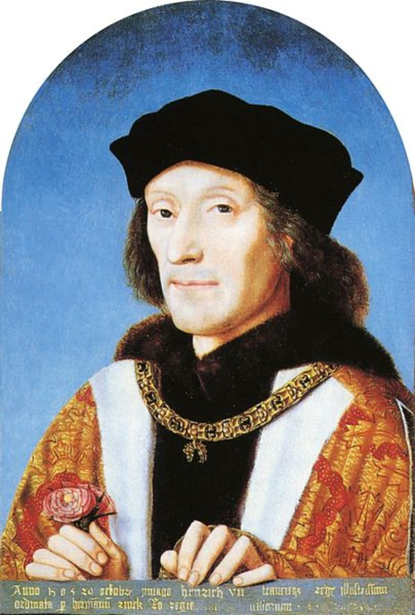Portrait of Henry VII of England. National Portrait Gallery. Henry VII was the first ruler of the Tudor Period.