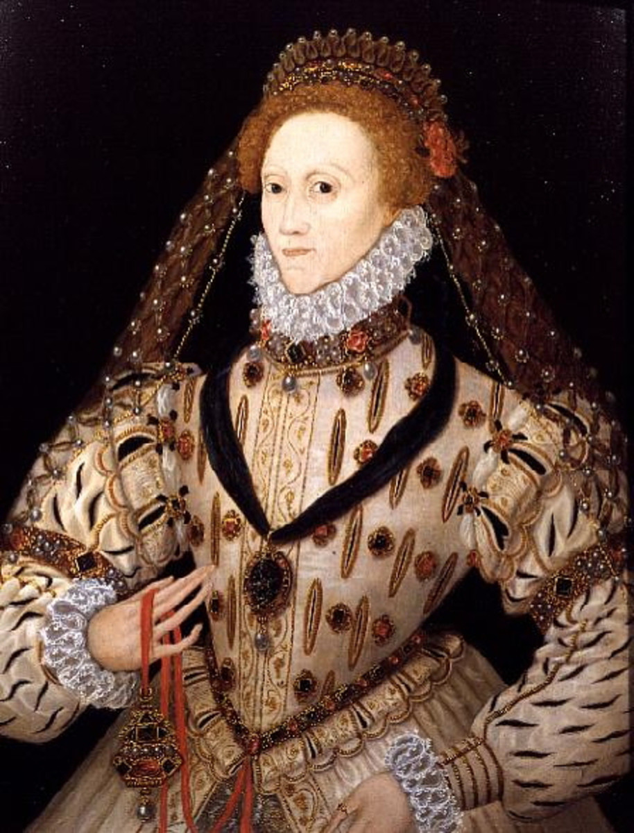 Elizabeth I of England. Elizabeth succeeded her sister in 1558 to rule for 45 years.