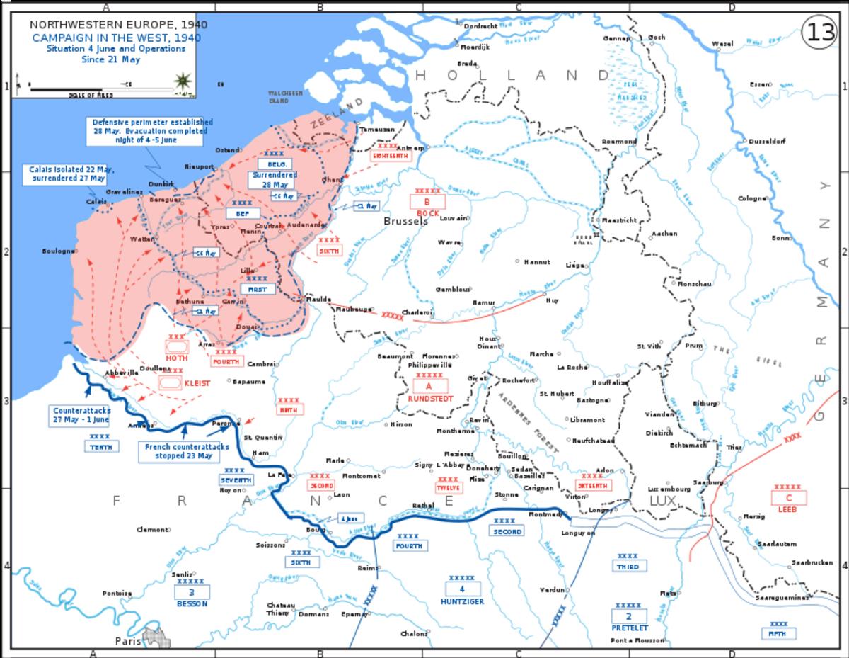 World War II: The Battle And Evacuation Of Dunkirk