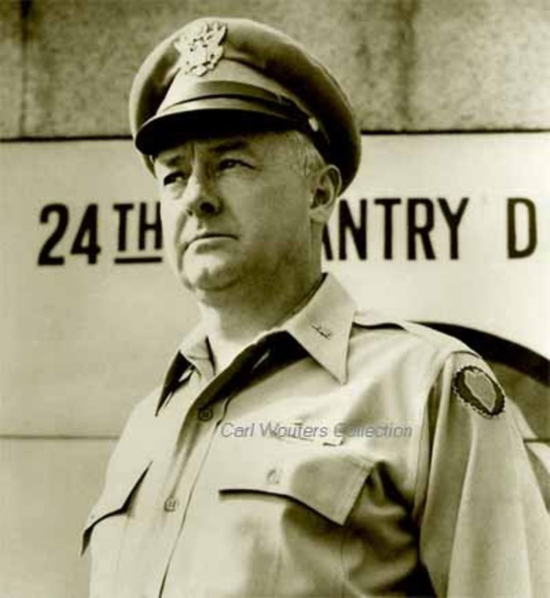 Colonel Charles Cavender in a postwar photo