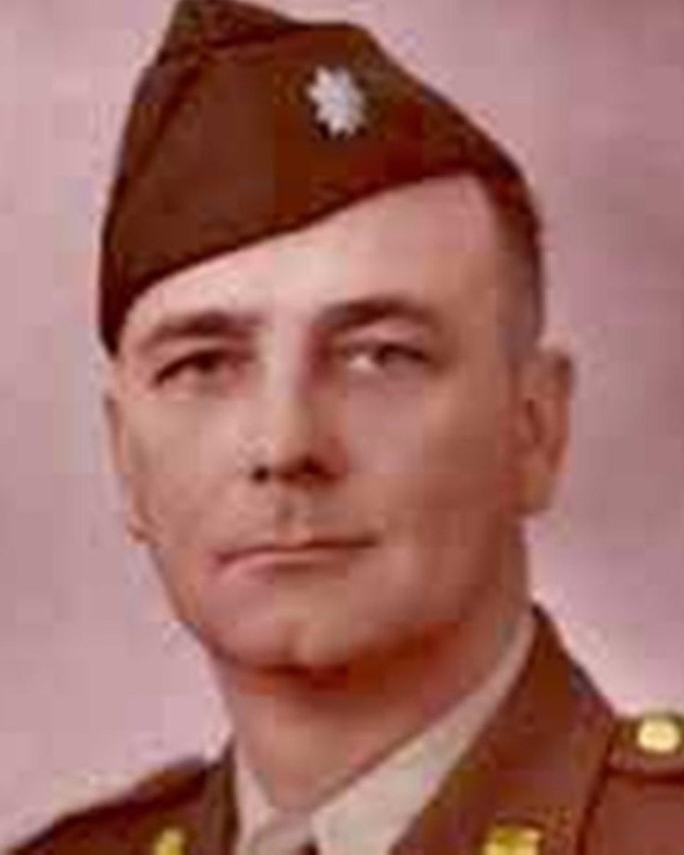 Lt. Colonel Vaden Lackey, CO, 590th Field Artillery