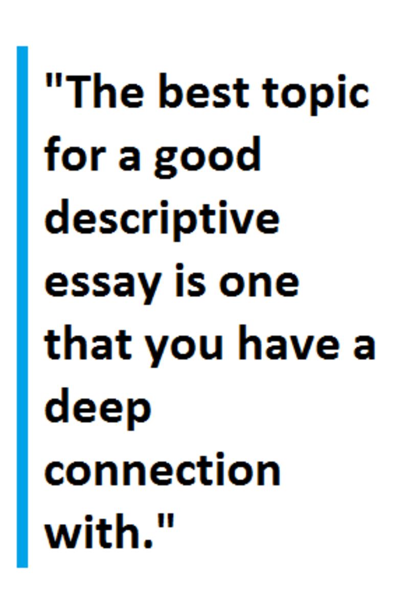 I need help writing a descriptive essay nativeagle.com