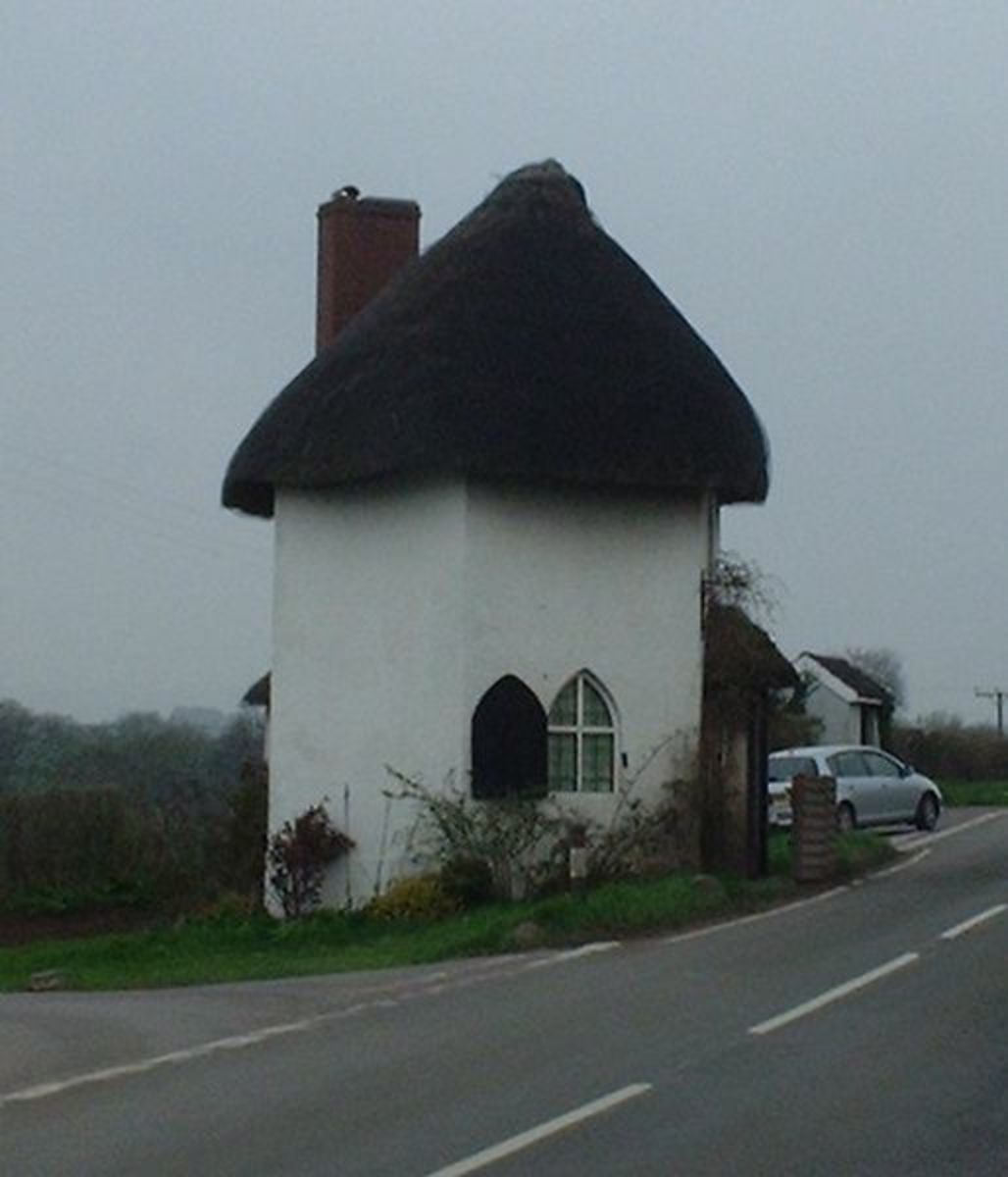 The old toll house at Stanton Drew, just outside Bristol