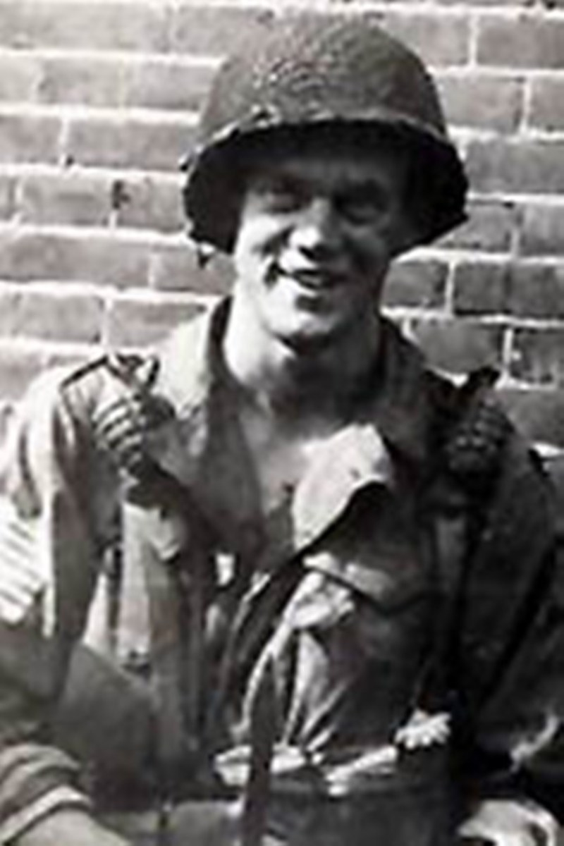 Pfc David Kenyon Webster, E Company, 2nd Battalion, 506th Parachute Infantry Regiment, 101st Airborne (at Eindhoven)