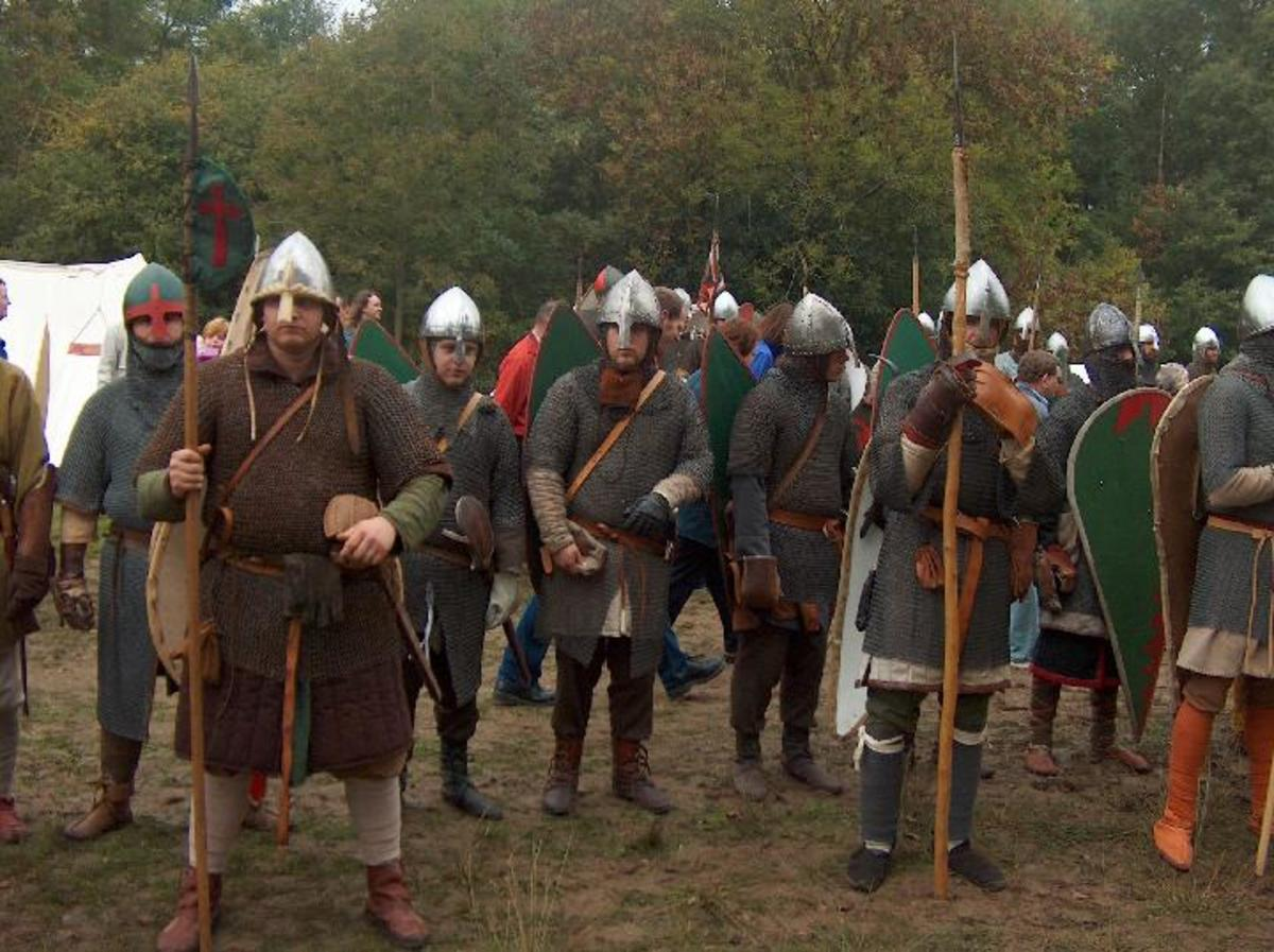 As well as Normans, William's army was bolstered by men hailing from Brittany (Bretons) and Flanders (Flemish).