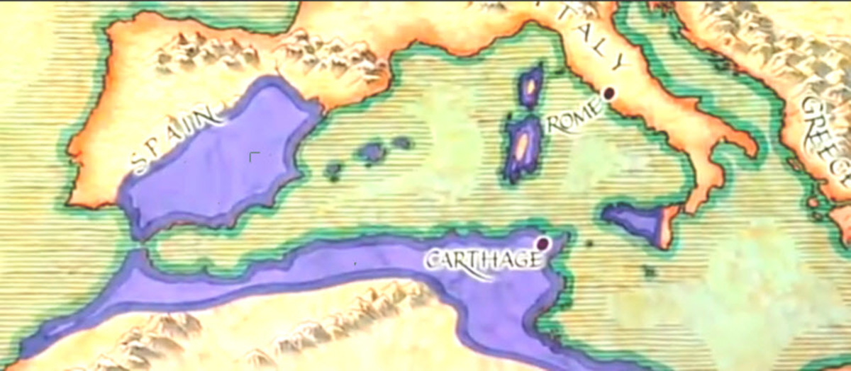 Cartago delende est - Carthage Must Be Destroyed! was the battle cry of the Romans. But what if Carthage had won?