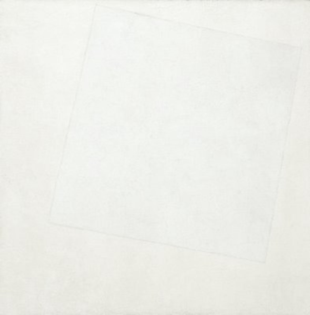 An abstract pioneer, Malevich painted this in 1918.