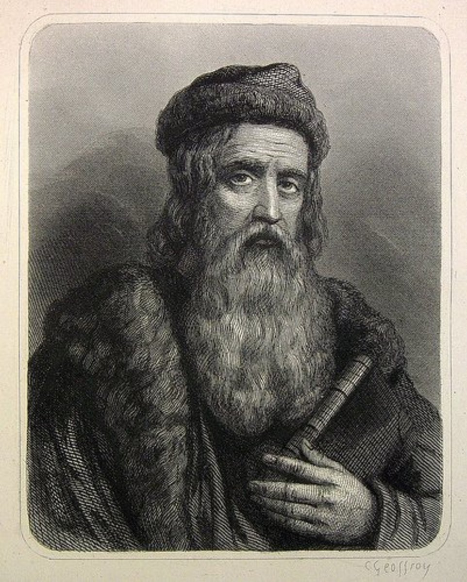 Goldsmith and Inventor of the Printing Press, Johannes Gutenberg.