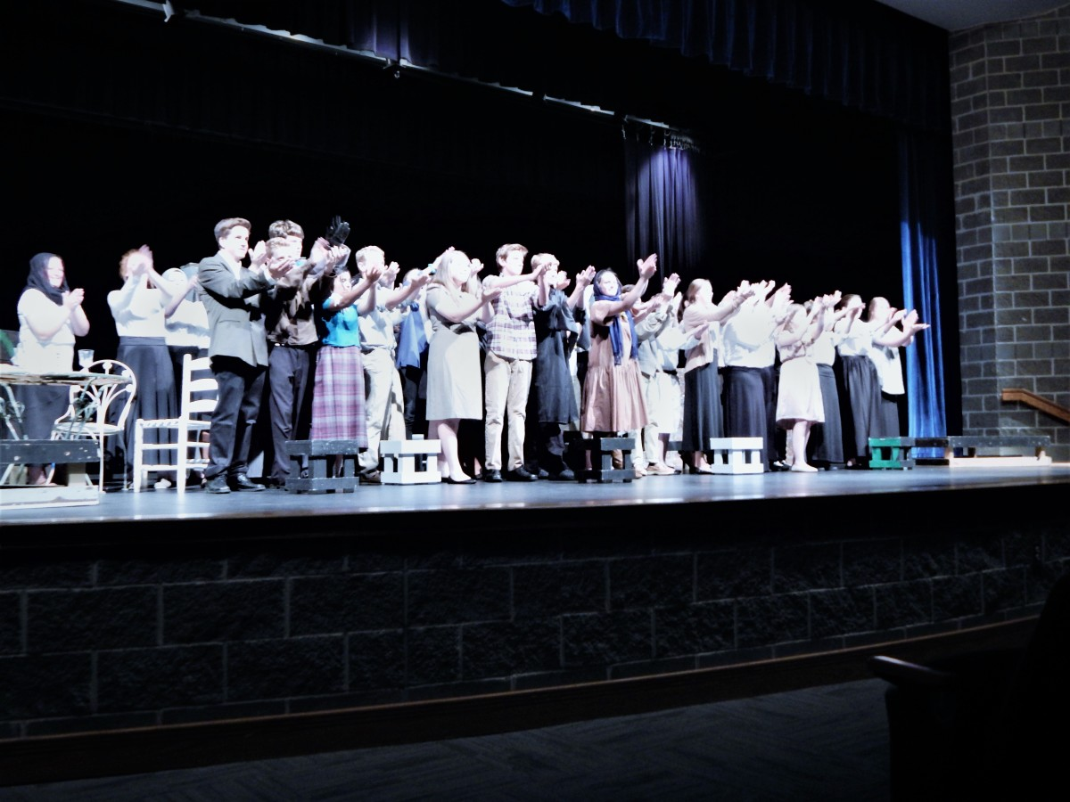 How good was the recent college theater production?