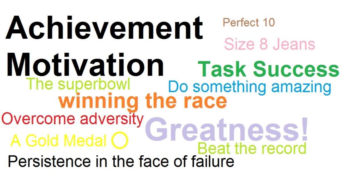 How do you define achievement motivation?