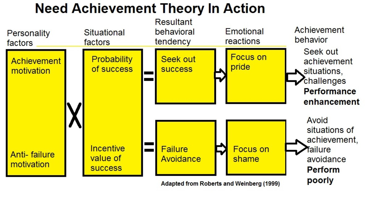 Need Achievement Theory Infographic