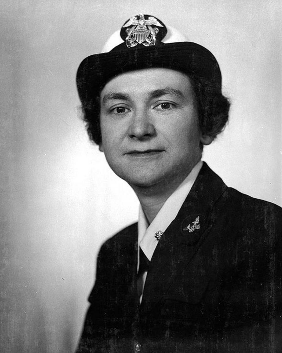 Captain Mildred H. McAfee
