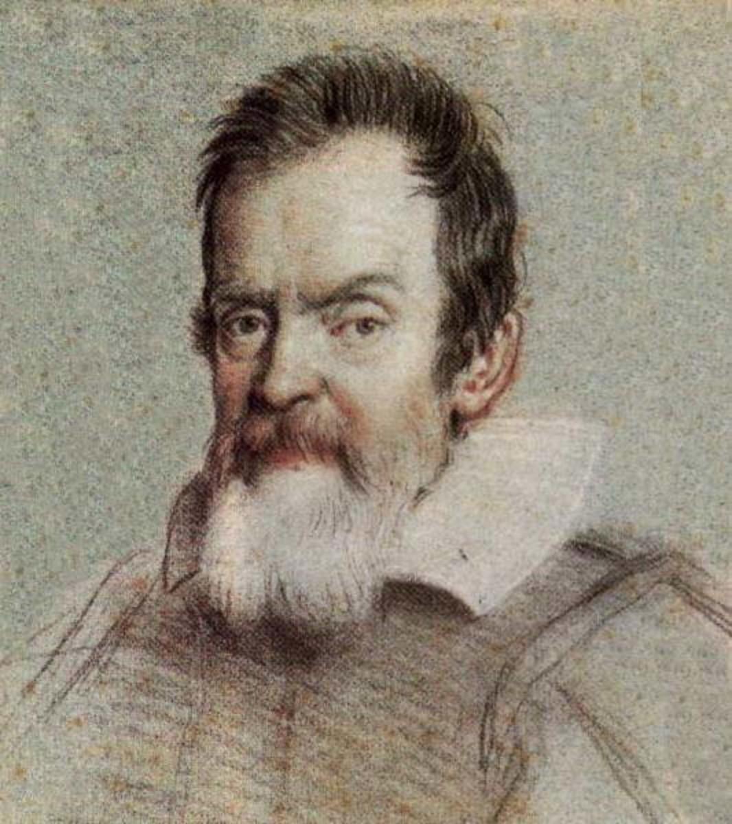 Galileo Galilei. Portrait by Ottavio Leoni (1578-1630).