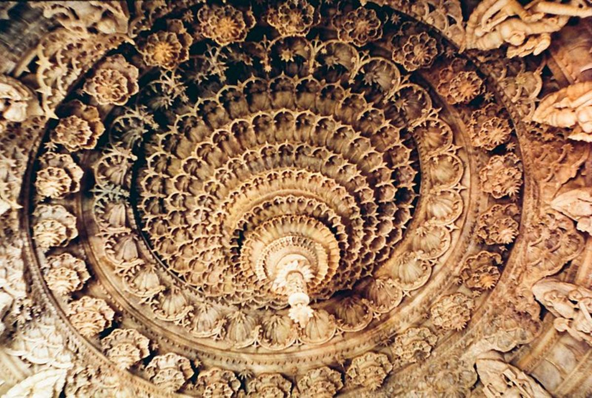 Ceiling of the Temple
