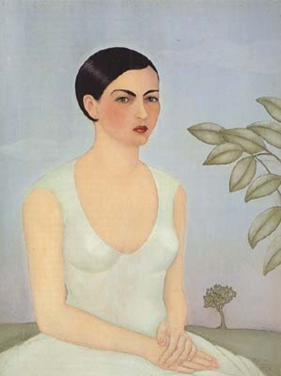 "Frida Kahlo's ""Portrait of Cristina, My Sister"" (1928)"