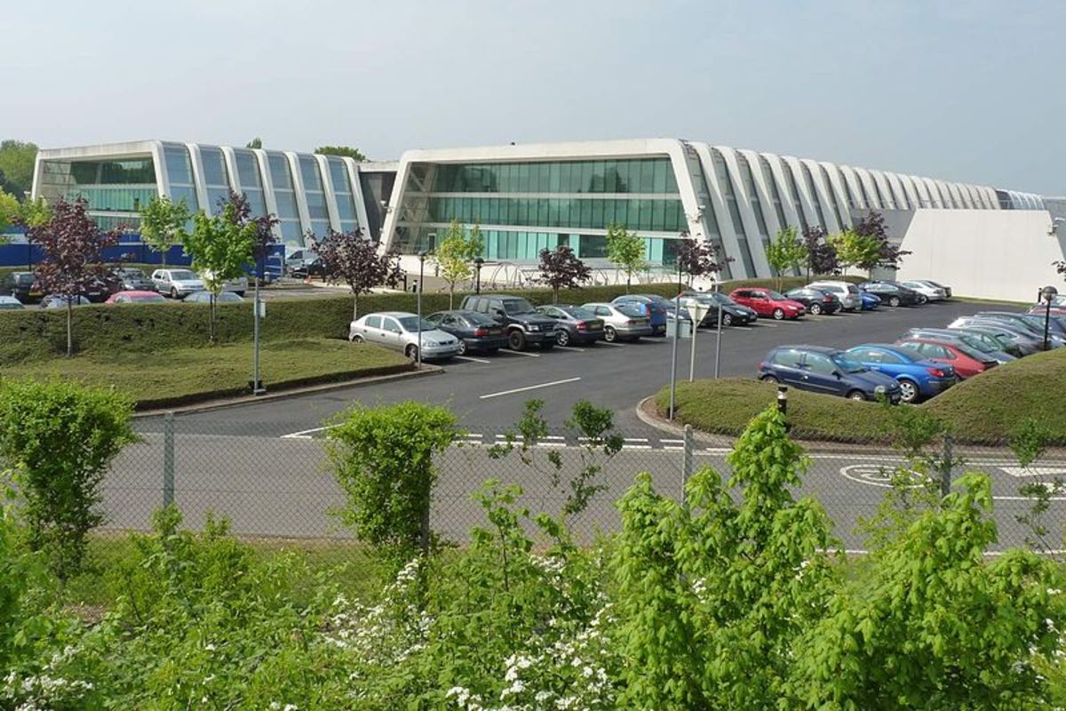 Buildings in the Cambridge Science Park
