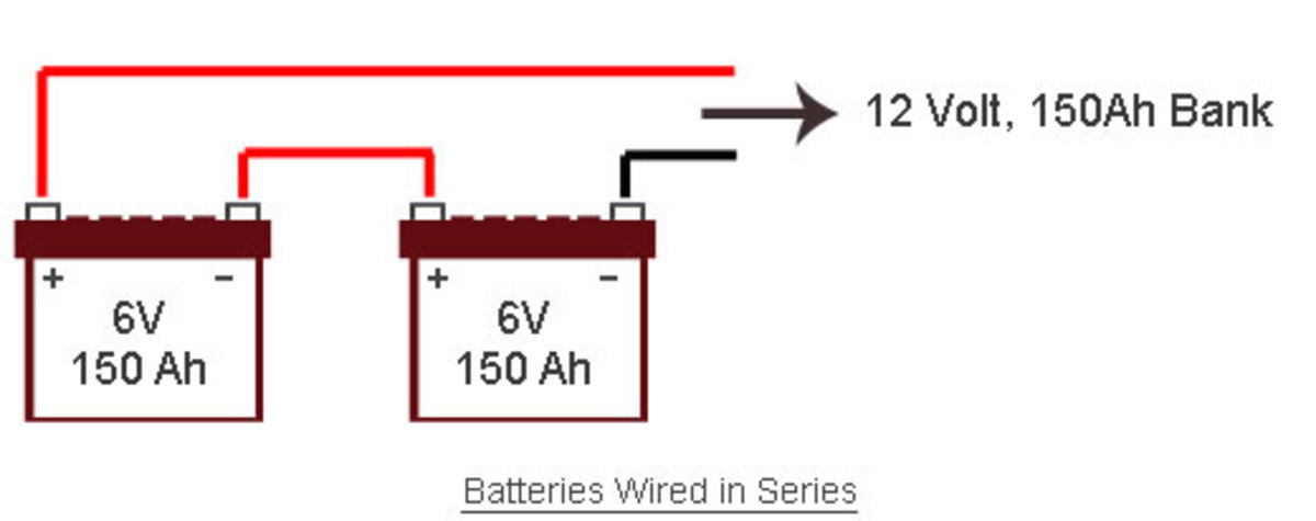 connecting batteries serial parallel serial and parallel dc series connection