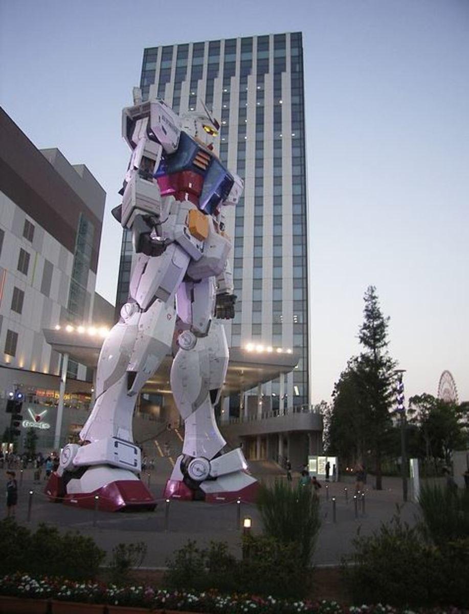 modern sculpture in Tokyo
