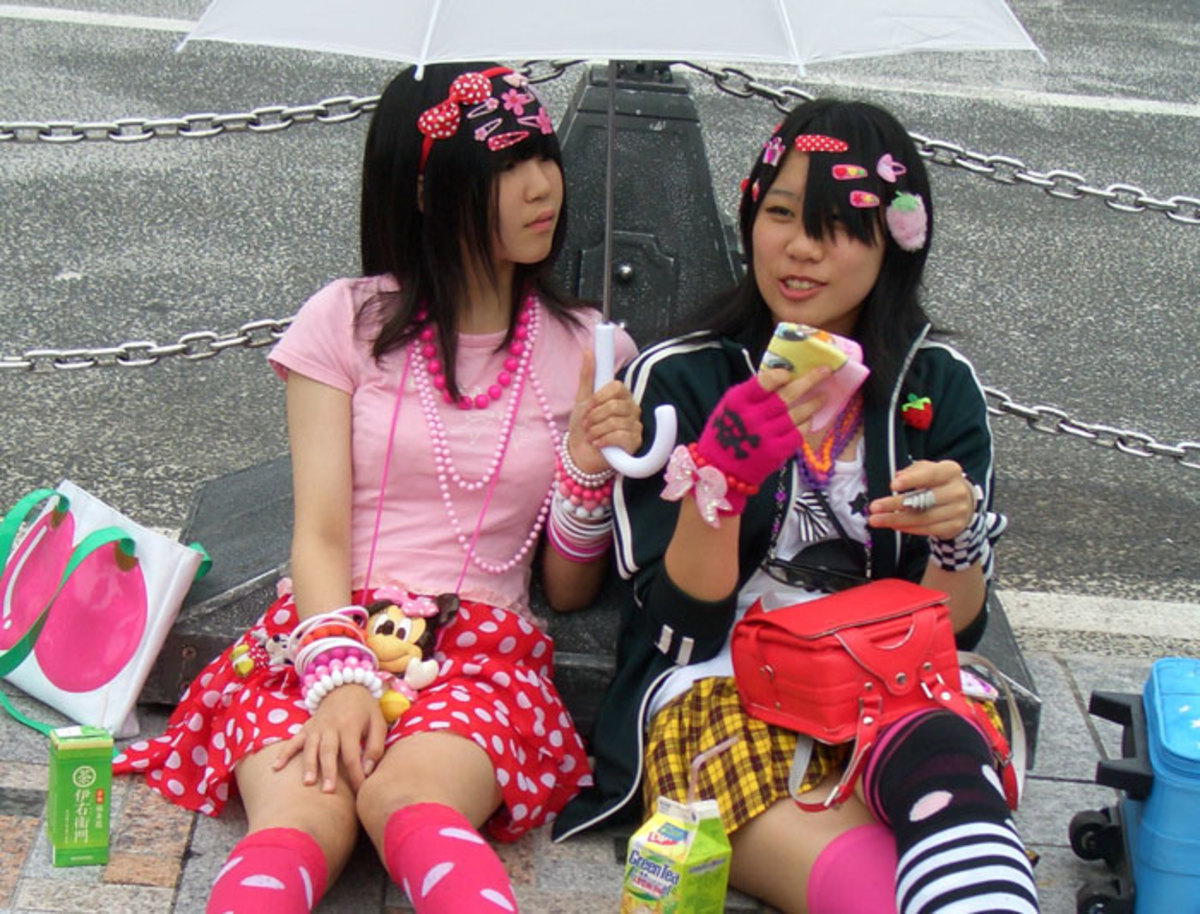 Harajuku Girls, Harajuku, Tokyo