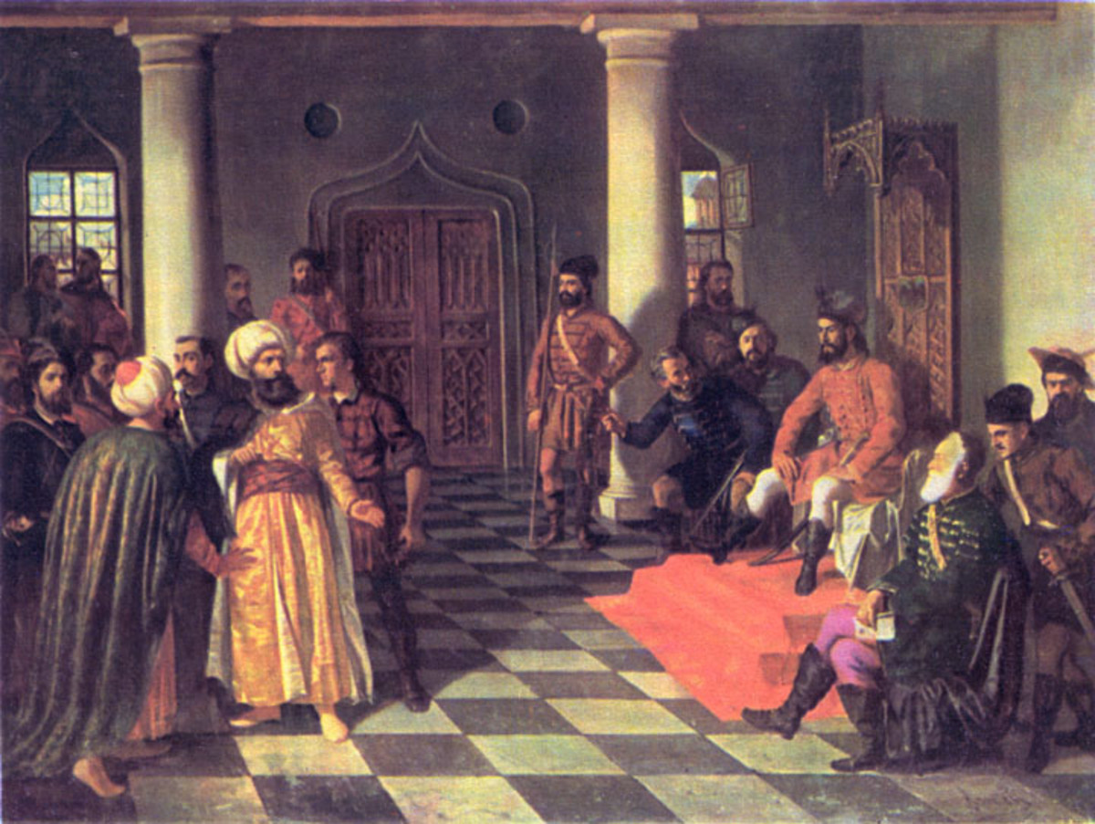 Vlad ordered the execution of Ottoman emissaries who sought to sell peace.