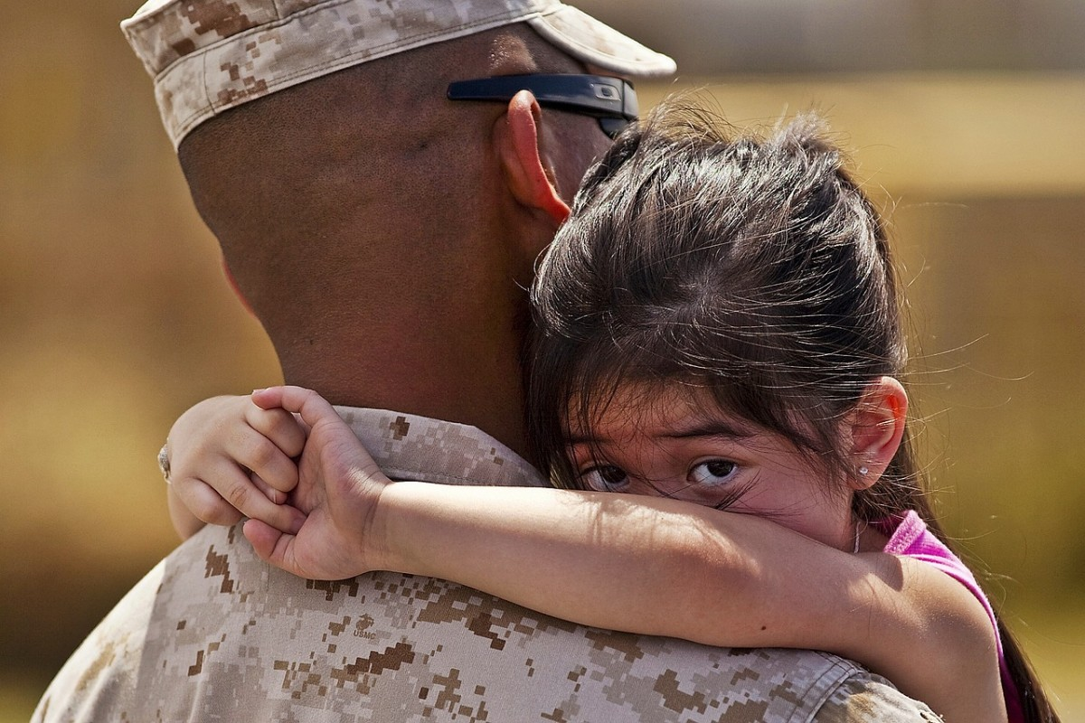 How can military parents stay close to their families?