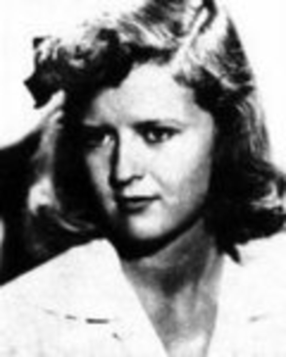 Scottie as a young woman.