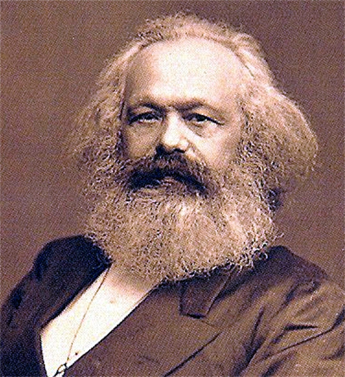 What would Mr. Marx think of this book?