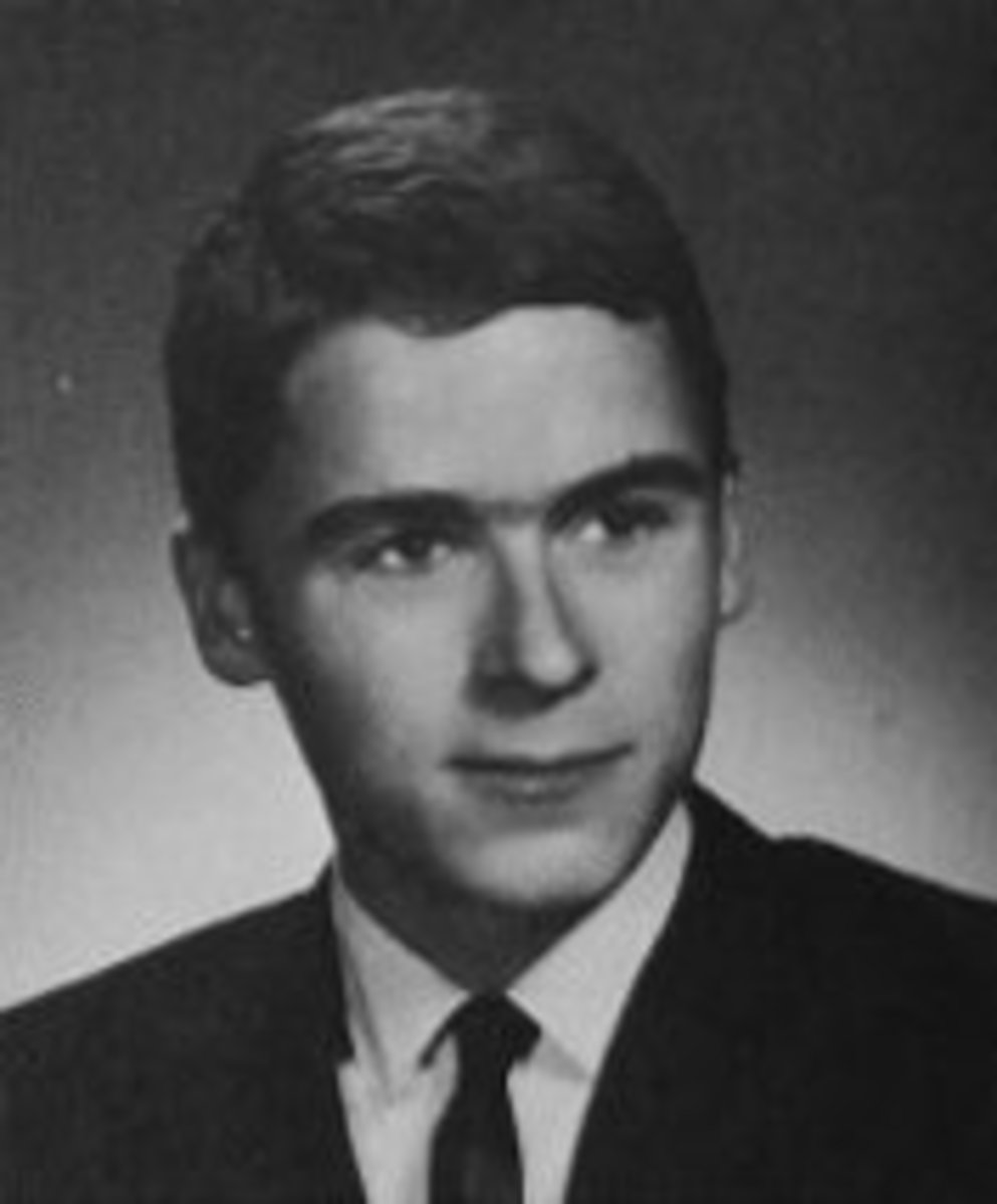 Photograph from Woodrow Wilson High School where Ted Bundy graduated.