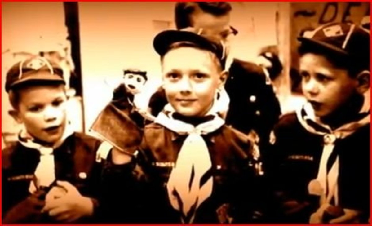 Bundy's seemingly normal childhood.