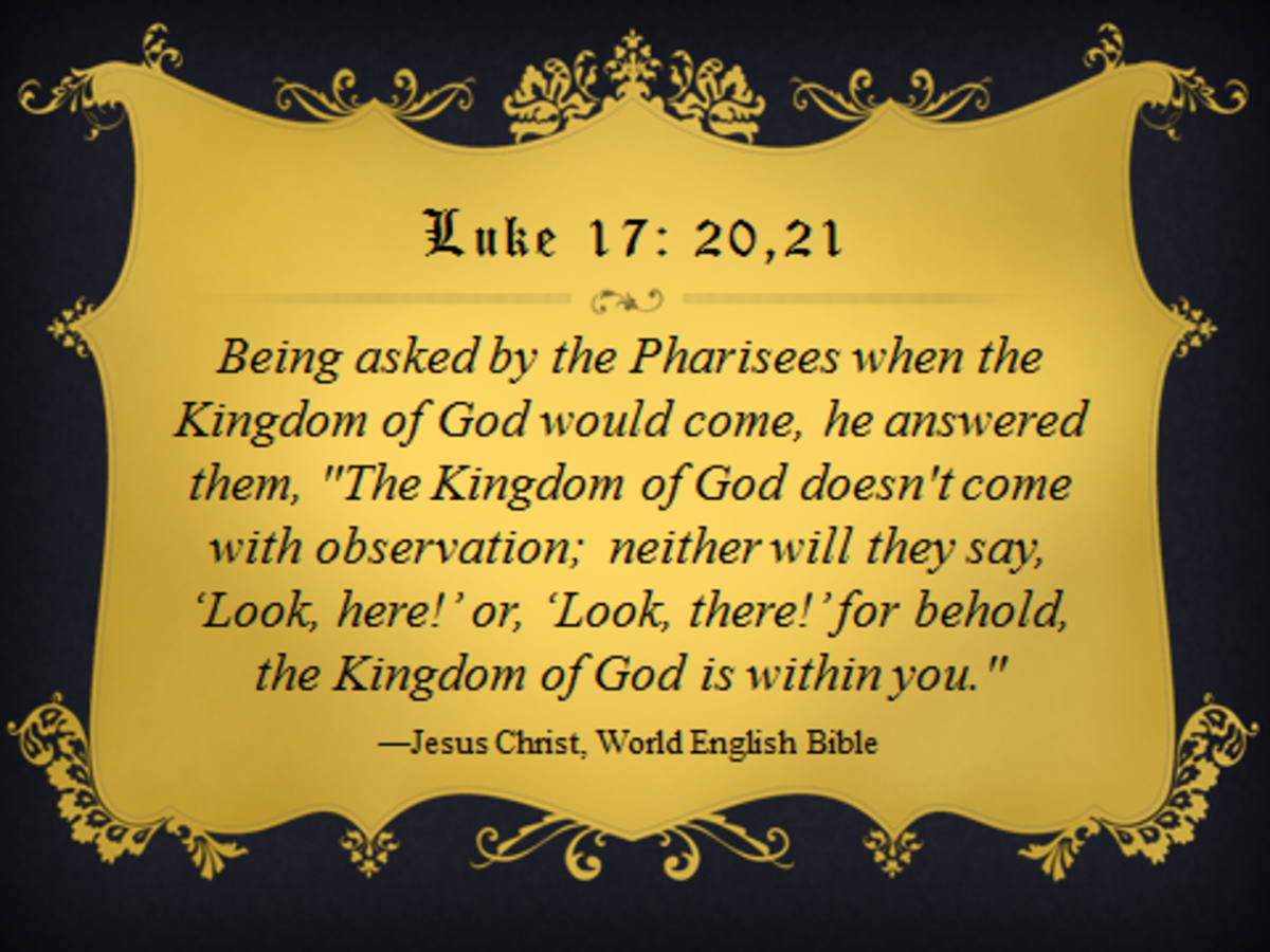 "If ""the Kingdom is God is within you,"" will it become your NDE and NEE?"