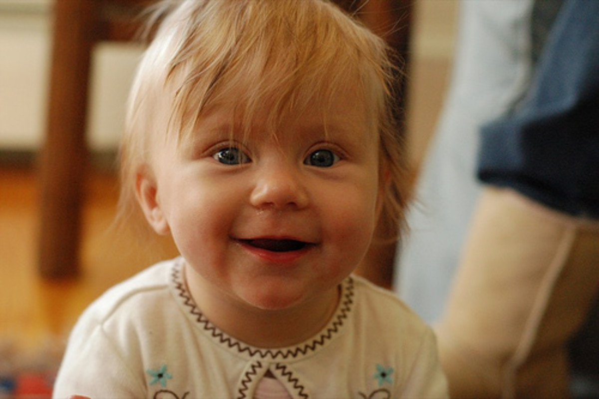 Most babies begin laughing between the age of 2 to 4 months.