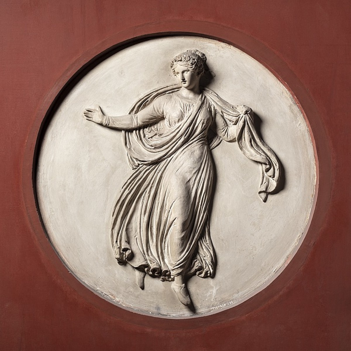 Polyhymnia, Muse of Religious Poetry.