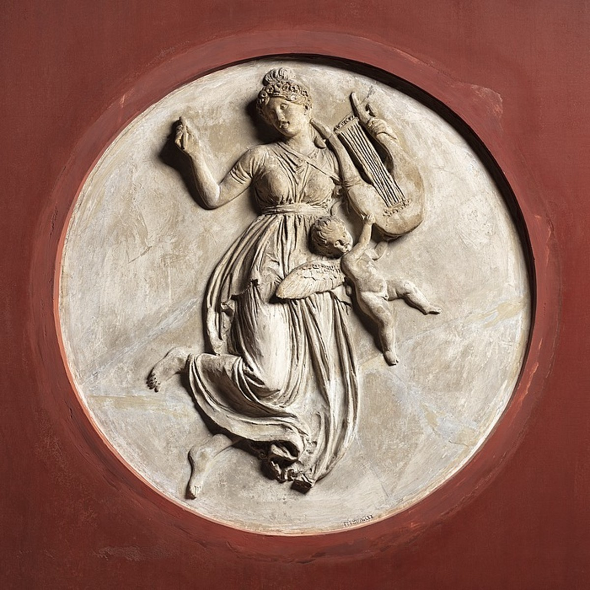 Erato, Muse of Lyric and Love Poetry.