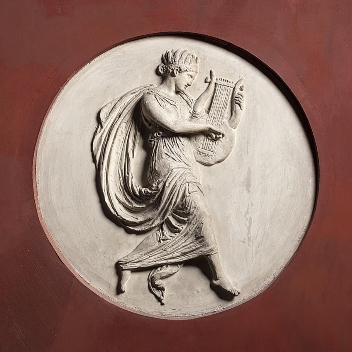 Terpsichore, Muse of Dancing.
