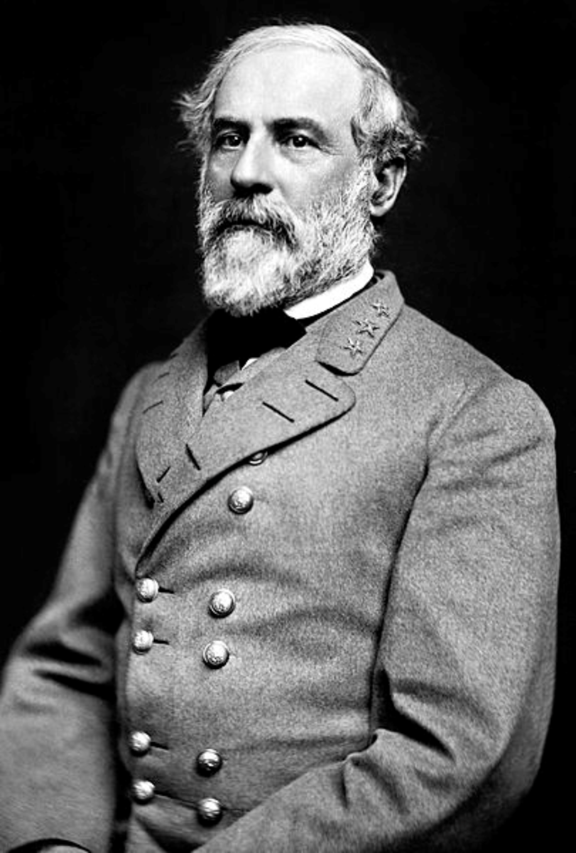 General Robert E. Lee Commander of the C.S.A.
