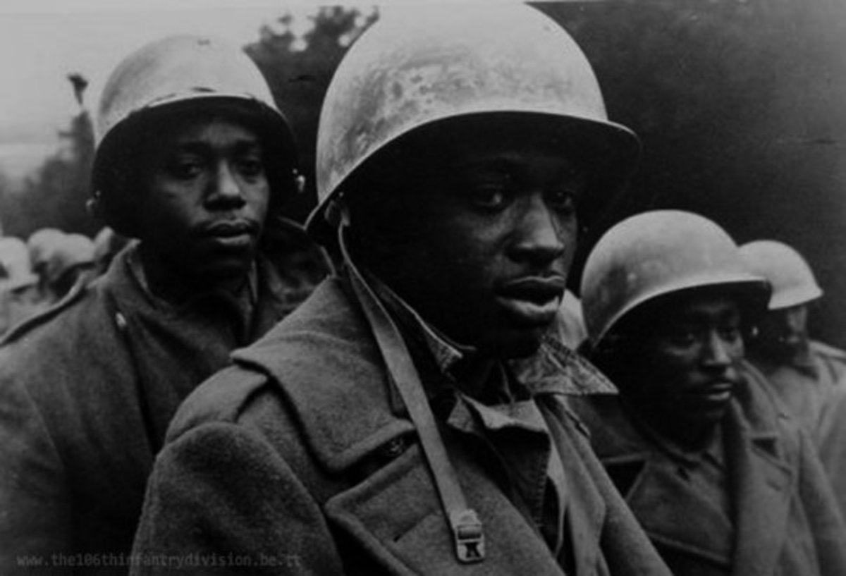 Men of the 333rd after capture