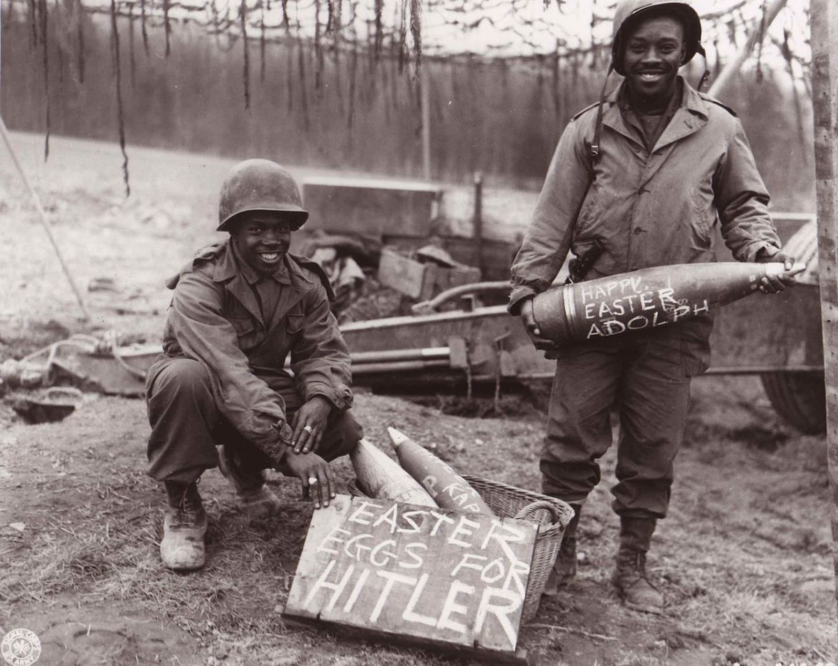 April 1945: The end was near. So much for the master race.