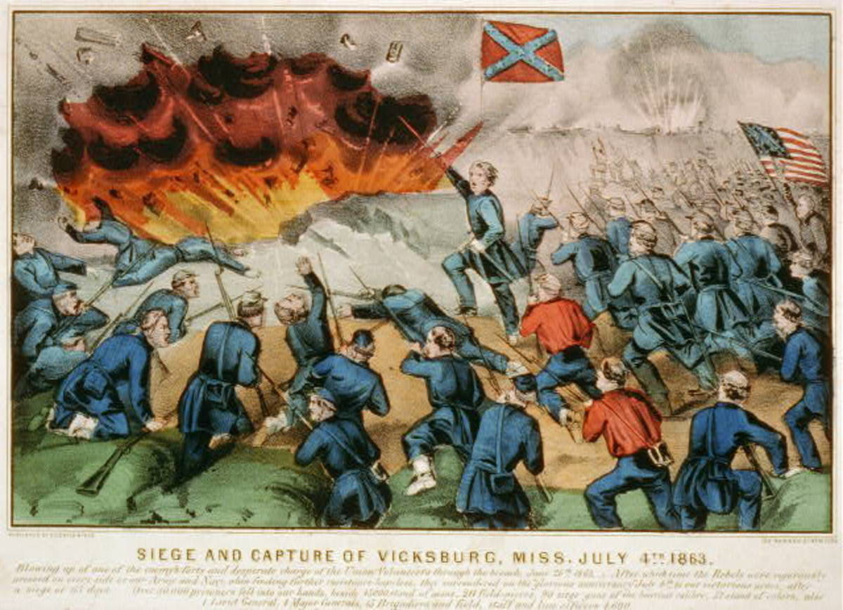 Siege and capture of Vicksburg