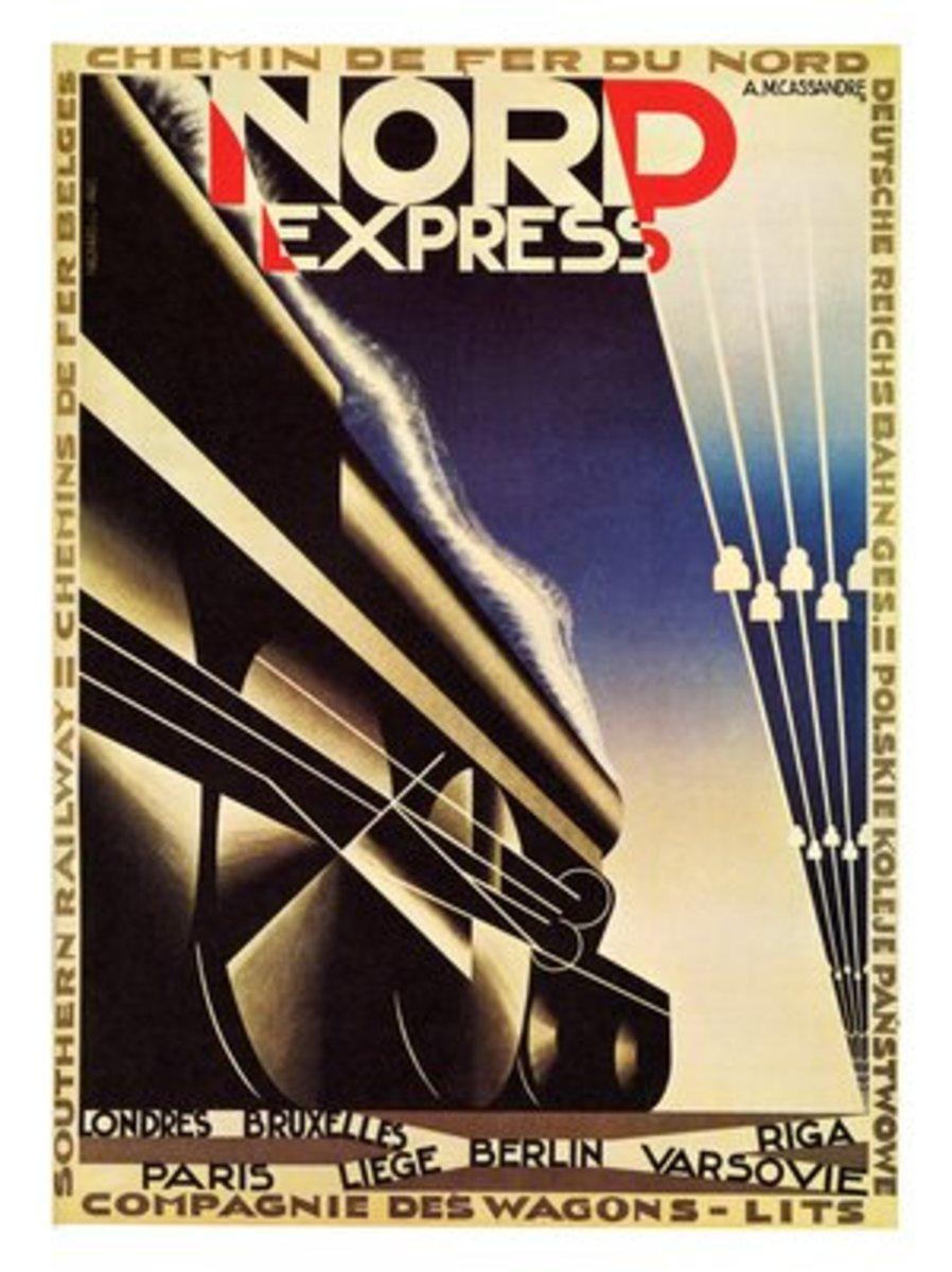 Nord Express- A M Cassandre- 1927