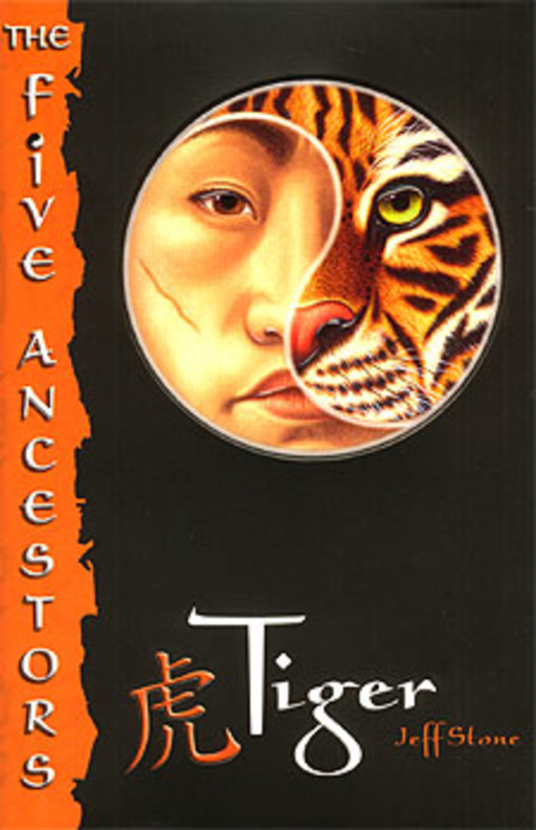 Best Books for Teen Girls Adopted from China--Tiger by Jeff Stone