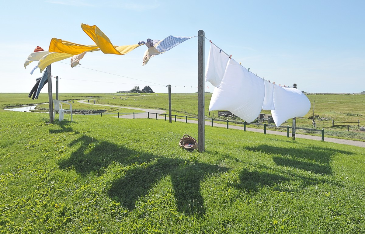 Laundry bleach brightens white fabrics.