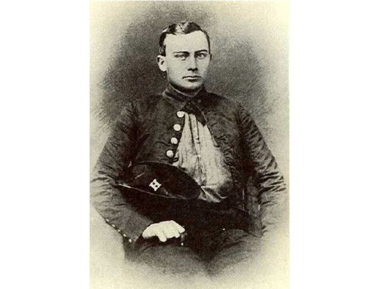Confederate Private Sam Watkins