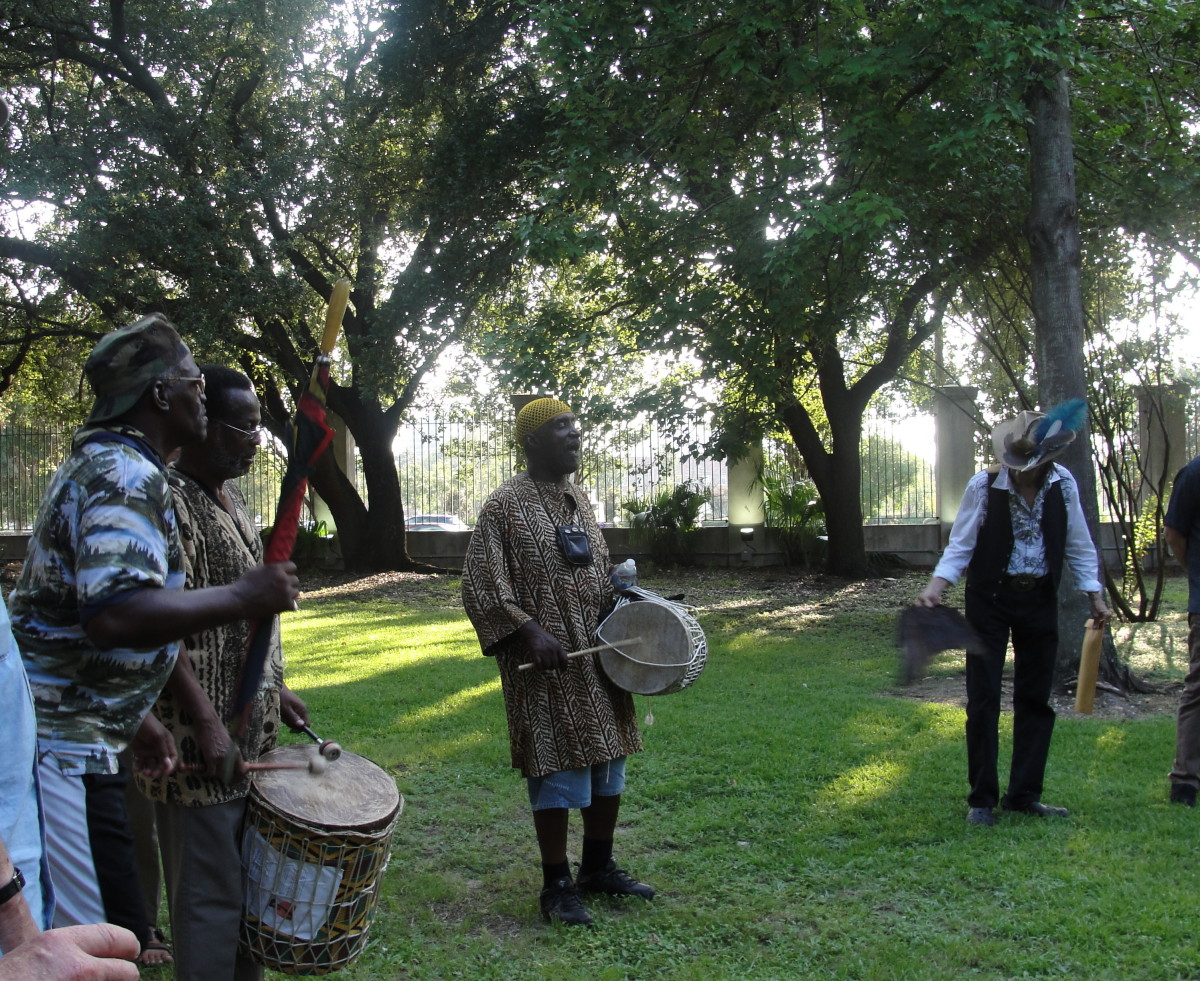 Congo Square persists. Remembrance rites are periodically performed and it's reverted to its original name and the video shows Congo Square Fest, an annual free event each spring